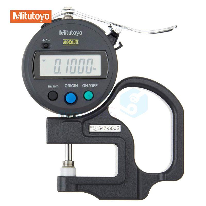 ضخامت سنج 12 میلیمتر دیجیتال دقت 0.01 میلیمتر میتوتویو MITUTOYO کد MT-547-500S