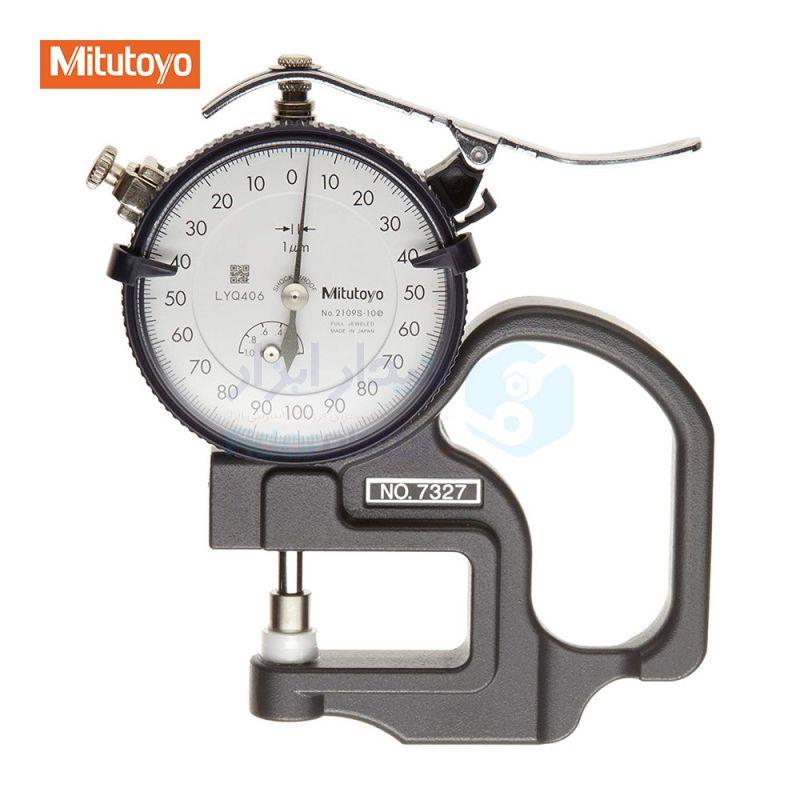 ضخامت سنج 0-1 میلیمتر ساعتی دقت 0.001 میلیمتر میتوتویو MITUTOYO کد MT-7327