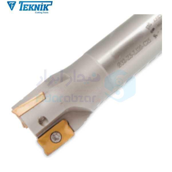 فرز الماس خور قطر 25 شنک 25 طول کل 120 اینسرت R390-1704.. تکنیک TEKNIK کد محصول S510 D25 Z02 L120 AP 17