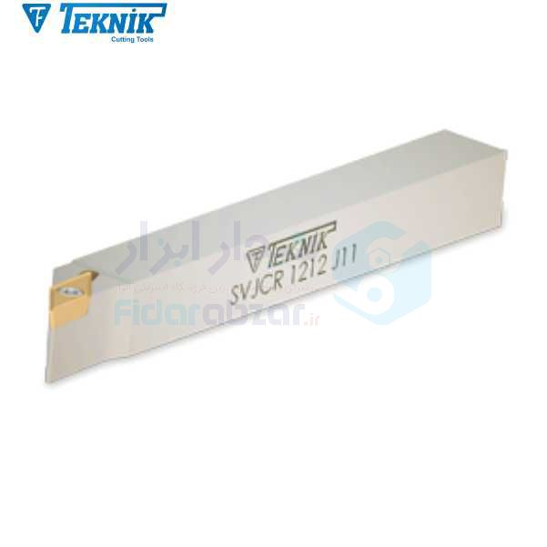 هلدر تراشکاری روتراش پیچی 12x12 الماس VC 1103 تکنیک TEKNIK کد محصول D460 SVJCR 12x12 J11 F