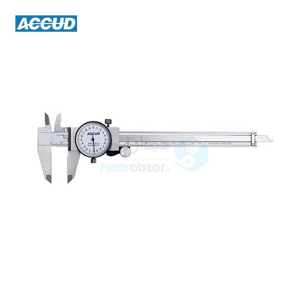 کولیس ساعتی 30 سانتی متر دقت 0.01 اکاد ACCUD کد ACD-101-012-21