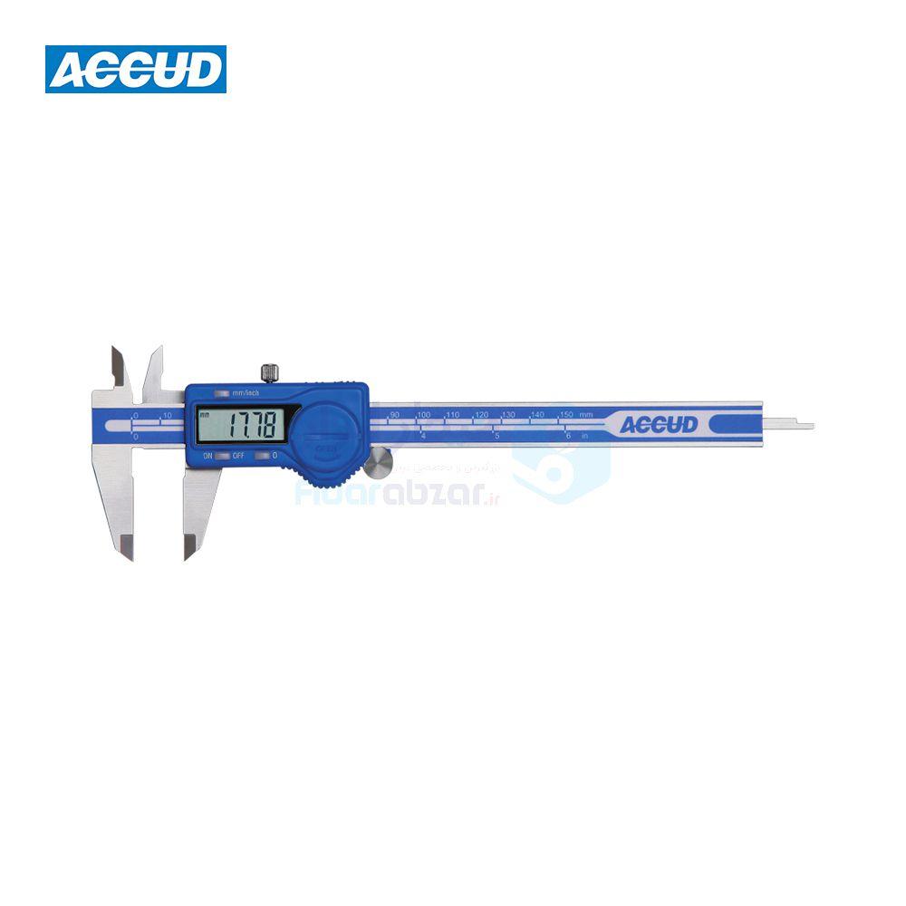 کولیس دیجیتال 30 سانتی متر دقت 0.01 اکاد ACCUD کد ACD-111-012-12