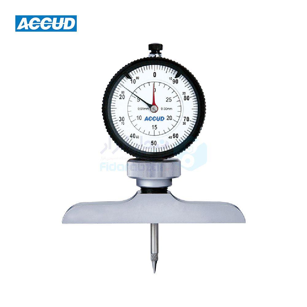 عمق سنج 300 میلیمتر ساعتی دقت 0.01 میلیمتر اکاد ACCUD کد ACD-292-300-11
