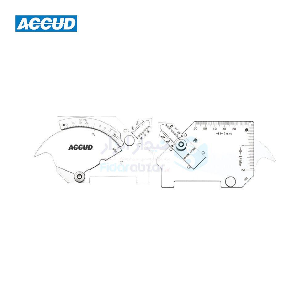 گیج جوشکاری کمبریج اکاد ACCUD کد ACD-975-025-01