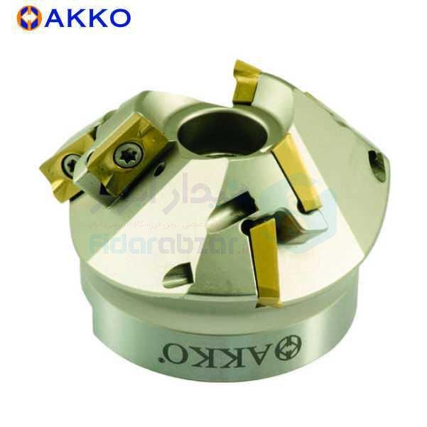 فرز خزینه (مته خزینه) قطر 50 زاویه 15 درجه طول کل 50 میلیمتر الماس AP.. 1604 آکو AKKO کد محصول AHM75 AP16 D35x50 A22 Z0306 H
