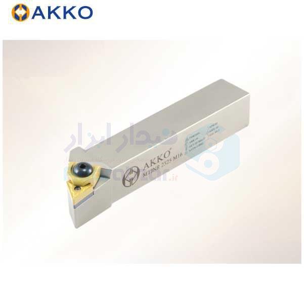 هلدر تراشکاری روتراش کلمپی 20x20 الماس TN 1604 اکو AKKO کد محصول MTJNR/L 20x20 K16