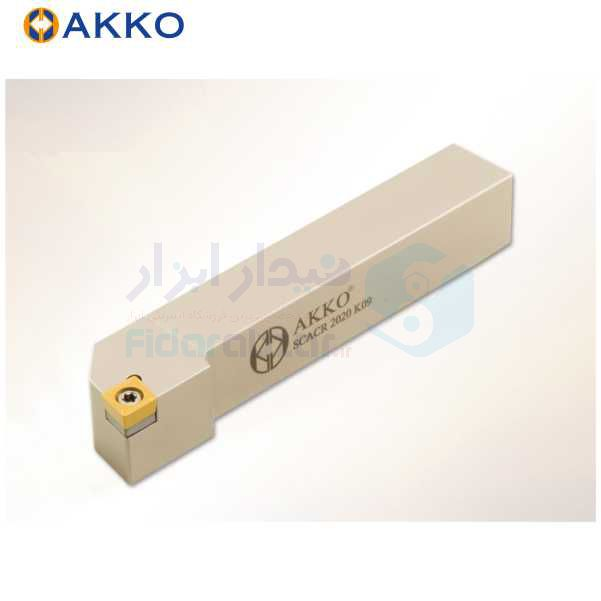 هلدر تراشکاری روتراش پیچی 8x8 الماس CC 0602 اکو AKKO کد محصول SCACR/L 0808 E06