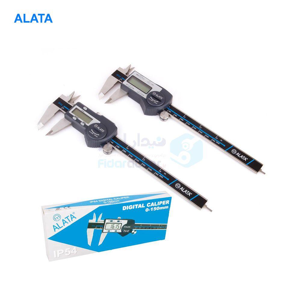 کولیس دیجیتال 15 سانت دقت 0.1 الاتا ALATA کد ALT-C8150-4B