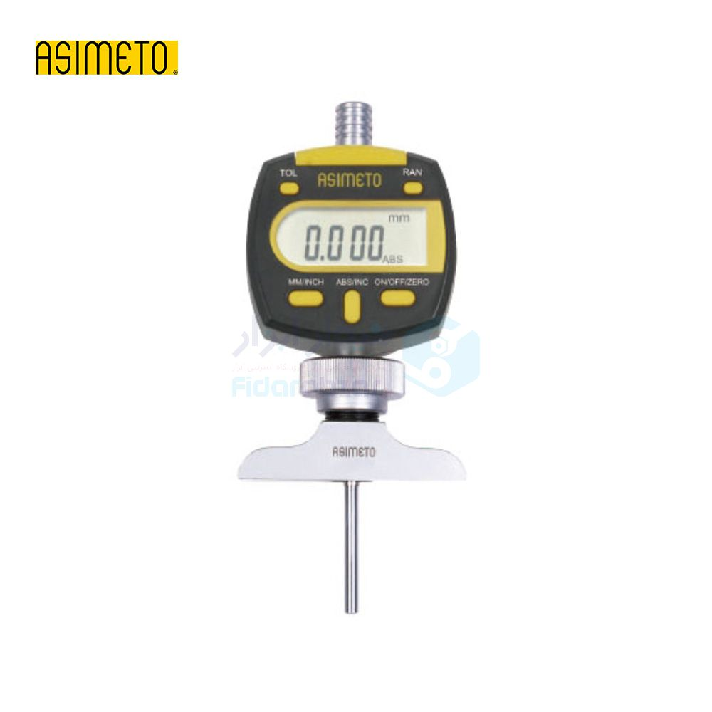 عمق سنج 100 میلیمتر دیجیتال دقت 0.001 میلیمتر اسیمتو ASIMETO کد AS-475-04-4