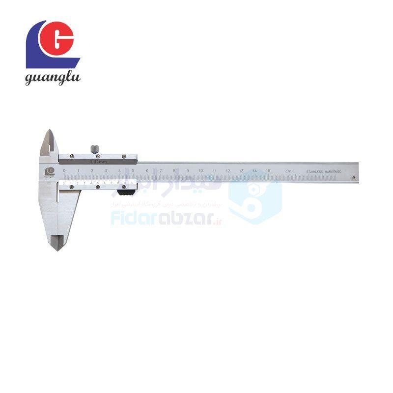کولیس 20 سانتی متر ورنیه دقت 0.02 ال جی LG کد GL-141-104