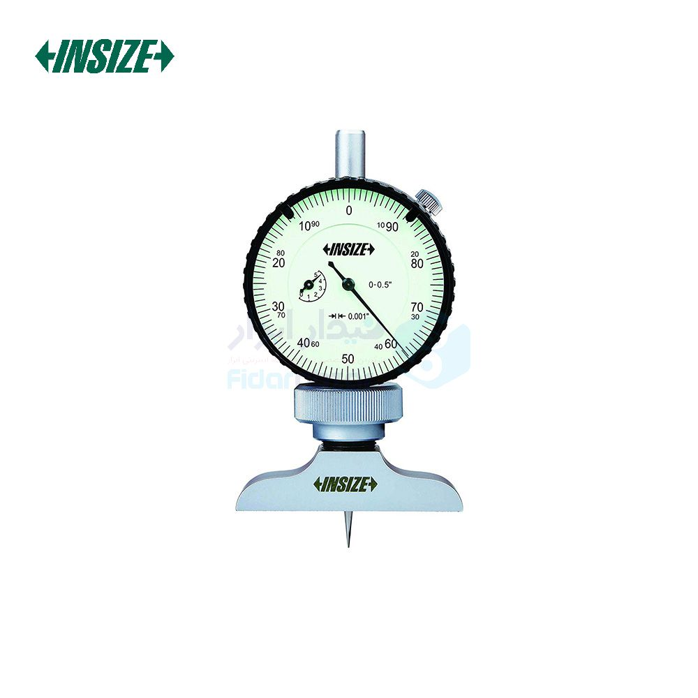 عمق سنج 10 میلیمتر ساعتی دقت 0.01 میلیمتر اینسایز INSIZE کد INZ-2341-101A
