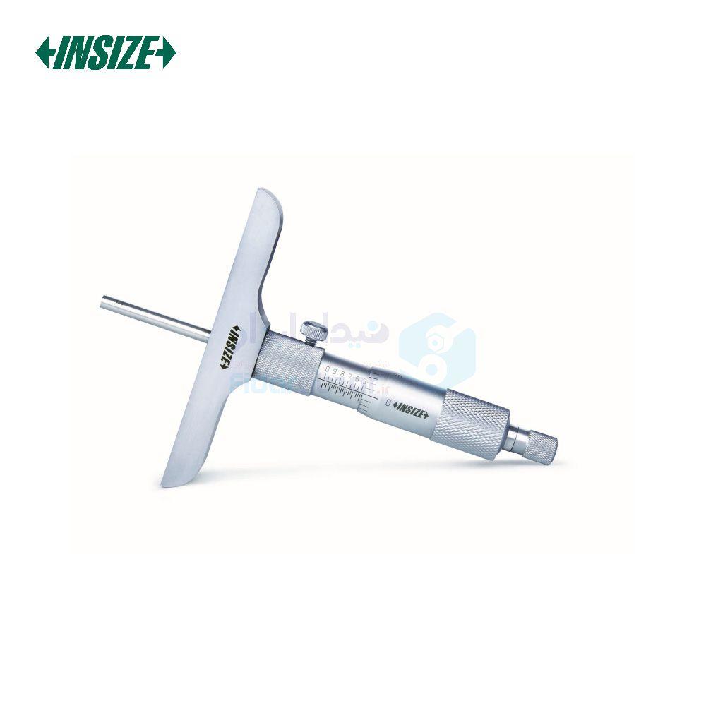 میکرومتر عمق سنج (صلیبی) 0-200 ورنیه دقت 0.01 اینسایز INSIZE کد INZ-3240-200