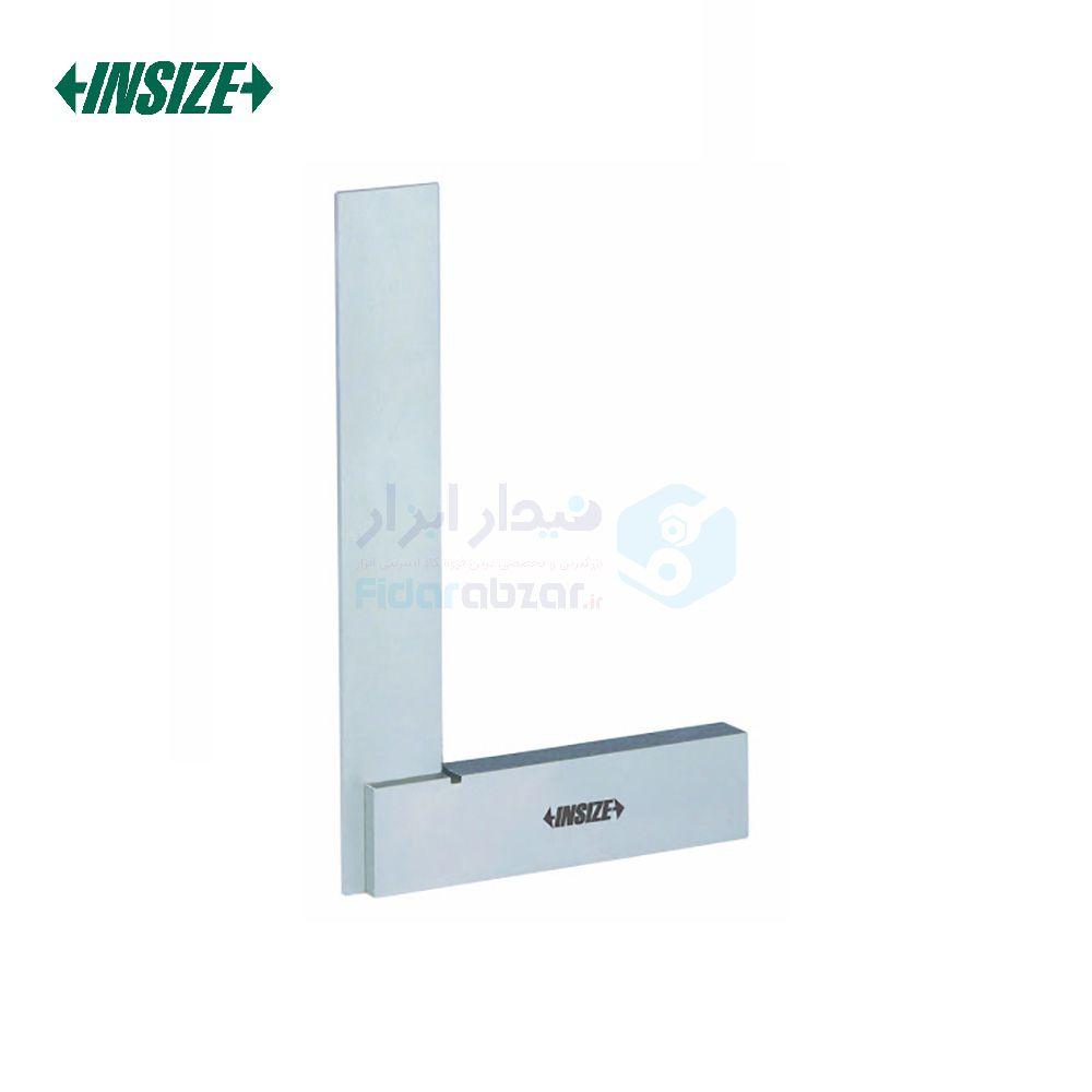 گونیا 5 سانت صنعتی 90 درجه گرید 2 پایه پهن اینسایز INSIZE کد INZ-4707-50