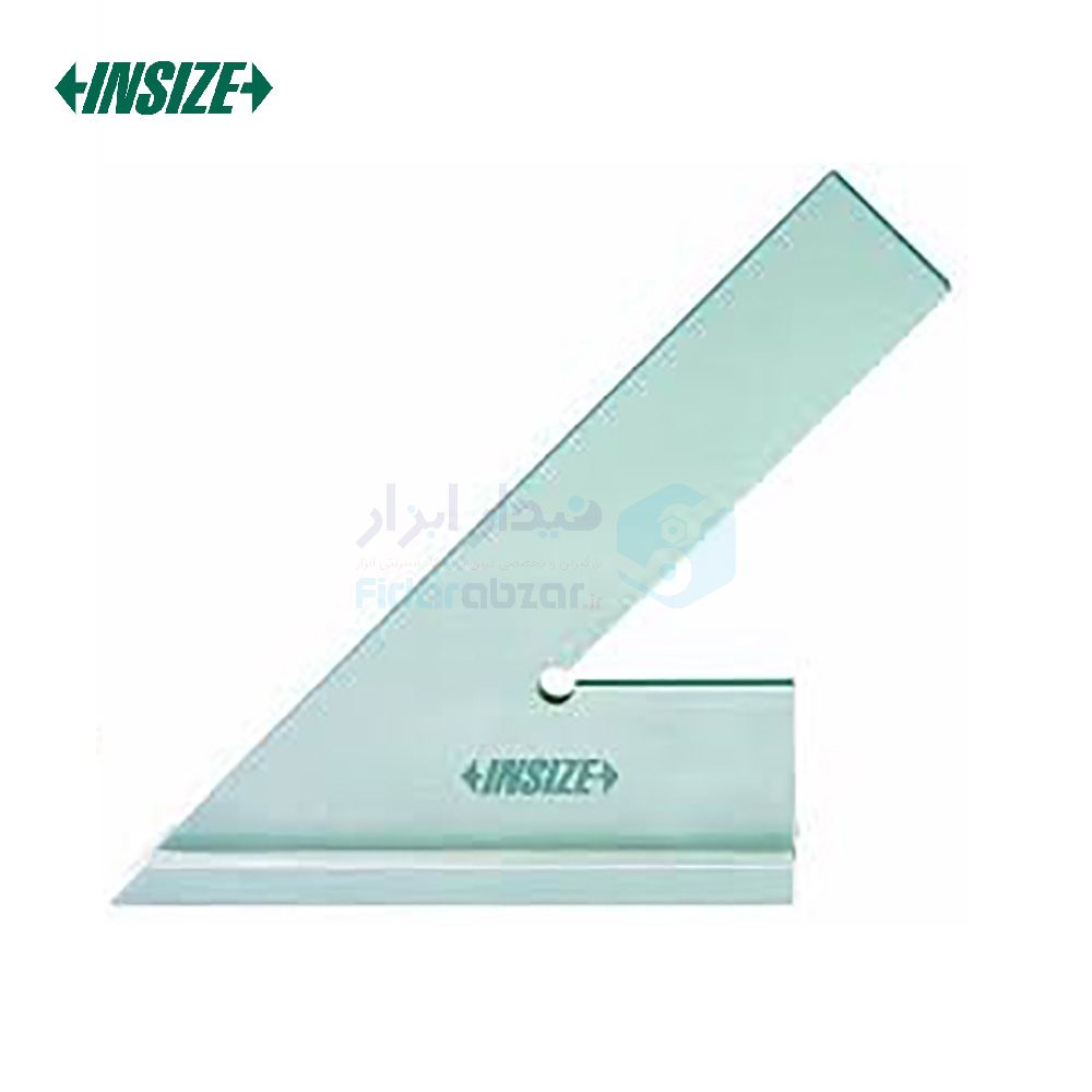 گونیا 10 سانت صنعتی 45 درجه پایه دار اینسایز INSIZE کد INZ-4747-100