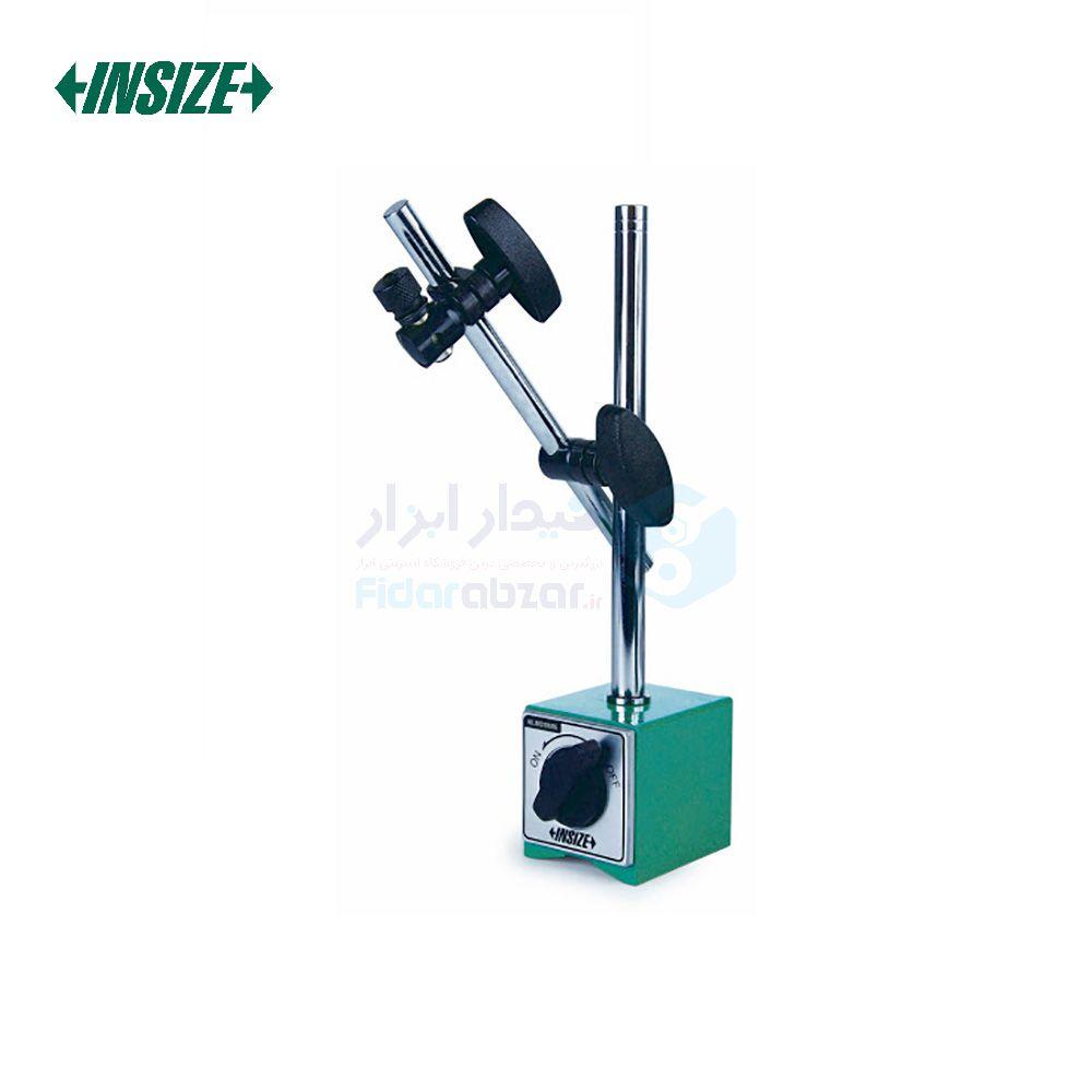 پایه ساعت اندیکاتور و شیطانکی مگنتی 100 کیلوگرم با پیچ تنظیم ظریف اینسایز INSIZE کد INZ-6202-100