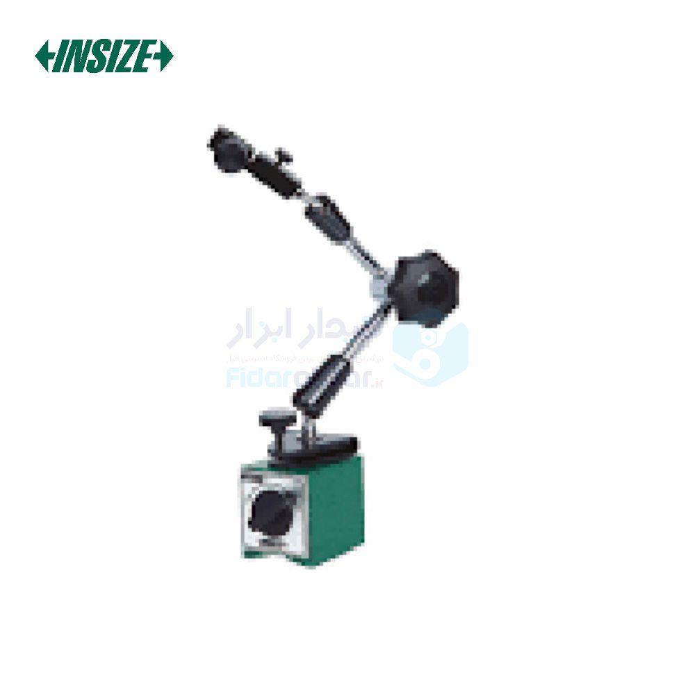 پایه ساعت اندیکاتور و شیطانکی مگنتی مفصلی 80 کیلوگرم با دو پیچ تنظیم ظریف اینسایز INSIZE کد INZ-6272-80