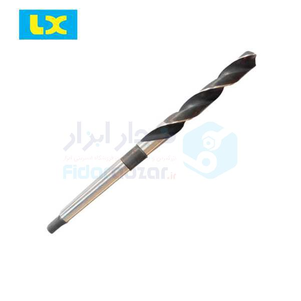 مته مخروطی قطر 6 میلیمتر طول لبه برنده 57 میلیمتر طول کل 138 میلیمتر HSS دین DIN345 ال ایکس LX کد محصول TDTLXHSS345WB-6
