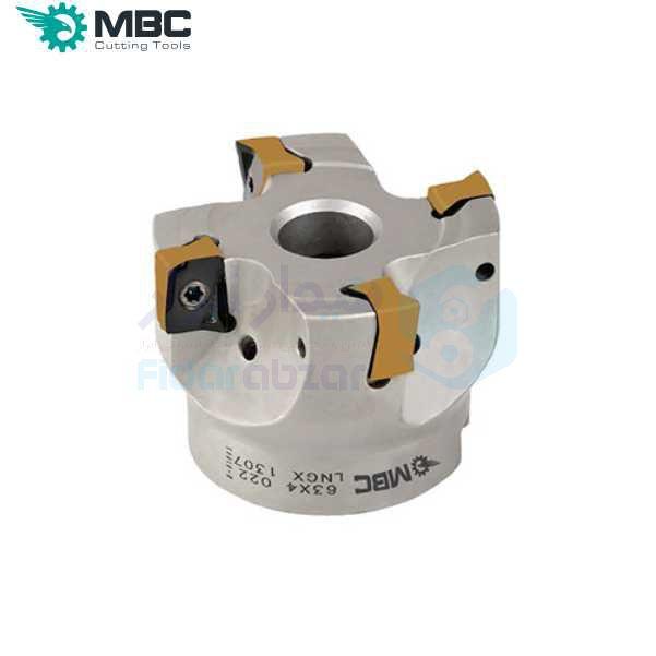 کفتراش فرزکاری قطر 160 شفت 40 اینسرت LN.. 1307.. ام بی سی MBC کد محصول EM90 160X8 040 LNGX 1307
