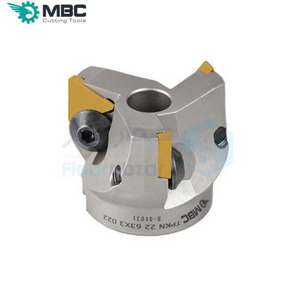 کفتراش فرزکاری قطر 200 شفت 60 اینسرت TP.. 2204.. ام بی سی MBC کد محصول EM90 200X8 060 TP 2204