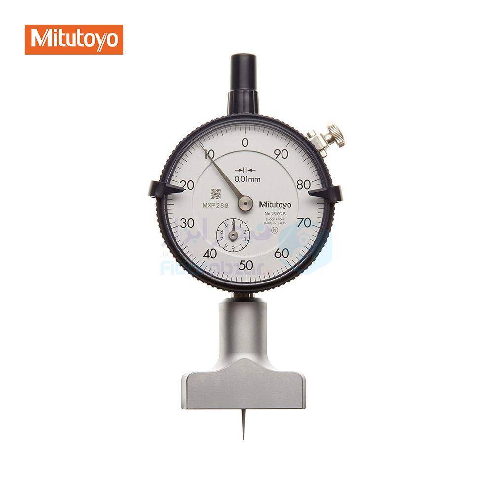 عمق سنج 10 میلیمتر ساعتی دقت 0.01 میلیمتر میتوتویو MITUTOYO کد MT-7210