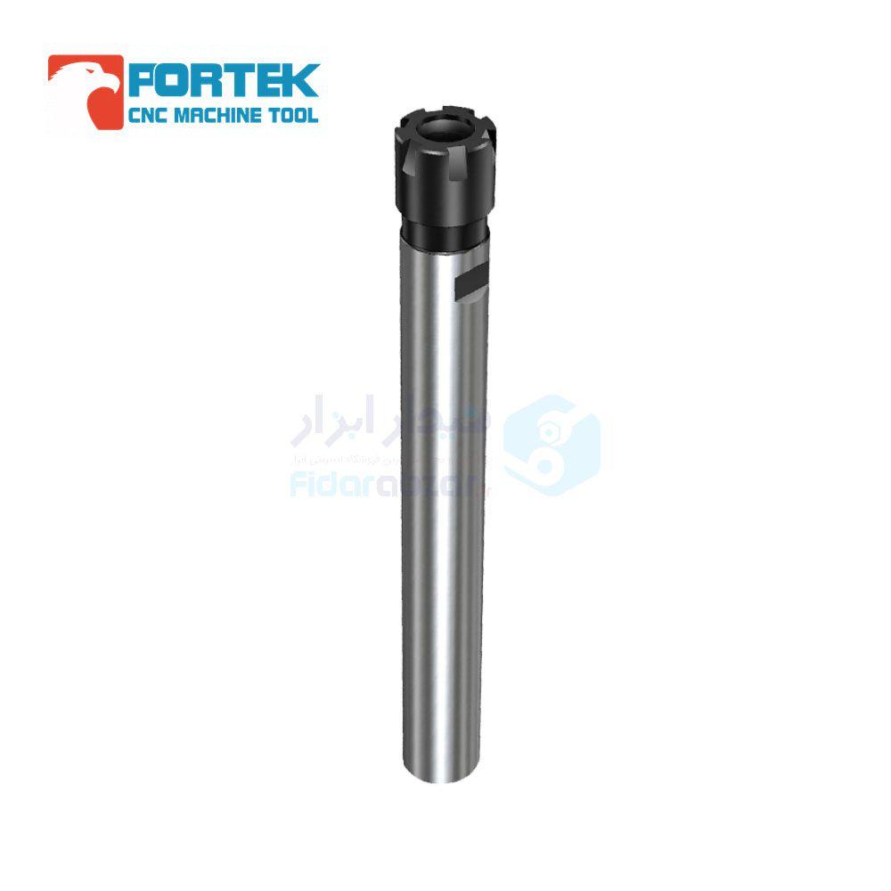کلت فشنگی گیر یا بیبی کولت شنک استوانه قطر 8 میلیمتر طول کارگیر 50 میلیمتر نوع فشنگی ER8 مهره کوچک نوع M پورتک PORTEK کد C8-ER8M-50