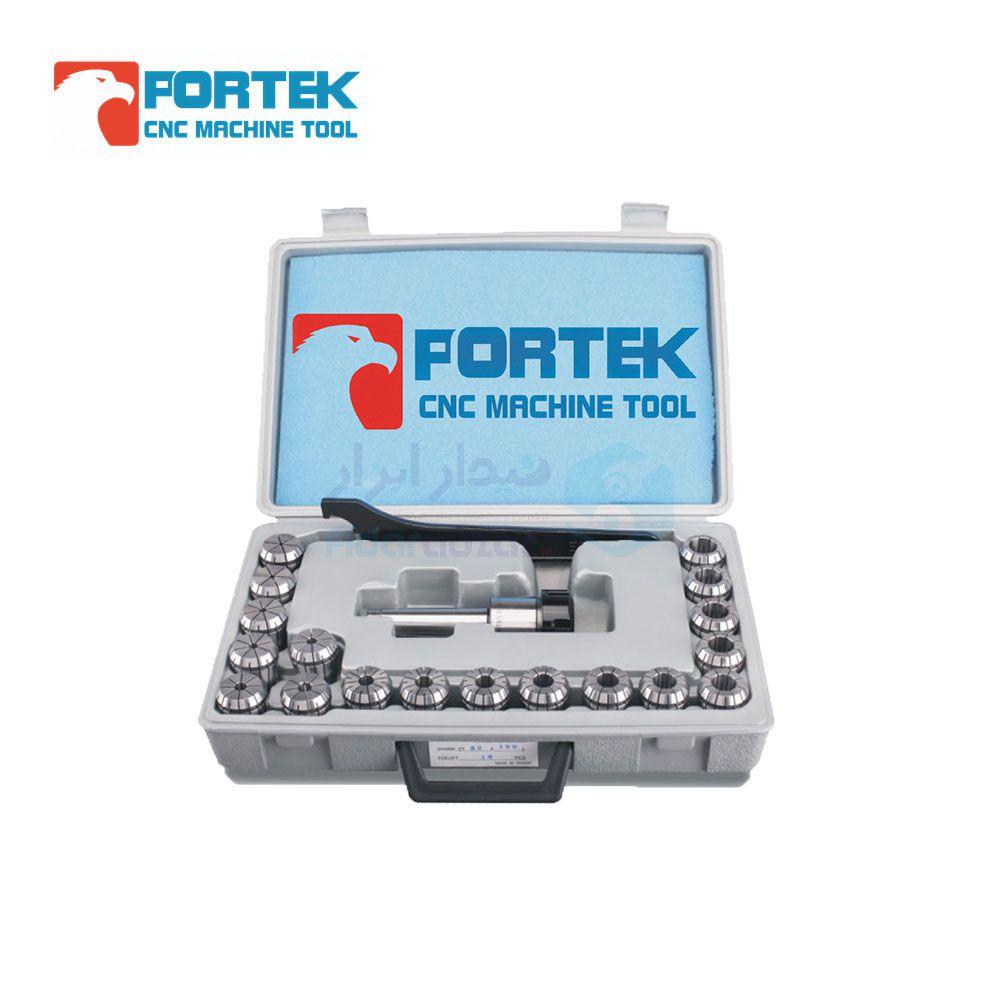 ست کلت فشنگی گیر MT2 طول کارگیر 40 میلیمتر نوع فشنگی ER16 تعداد فشنگی 10 عدد پورتک PORTEK کد MT2-ER16-40-10