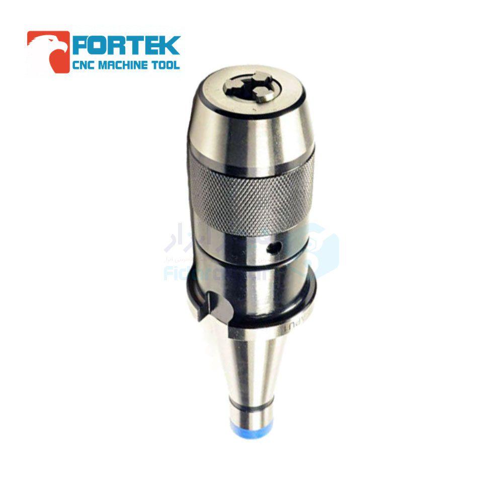 کلت سه نظام یک تکه NT30 طول کارگیر 110 میلیمتر ظرفیت سه نظام 5 میلیمتر پورتک PORTEK کد NT30-APU13-110