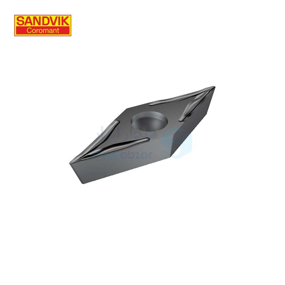 تصوير رنده ، تيغچه تراشکاري VCET 110302-UM 1105 سندويک SANDVIK