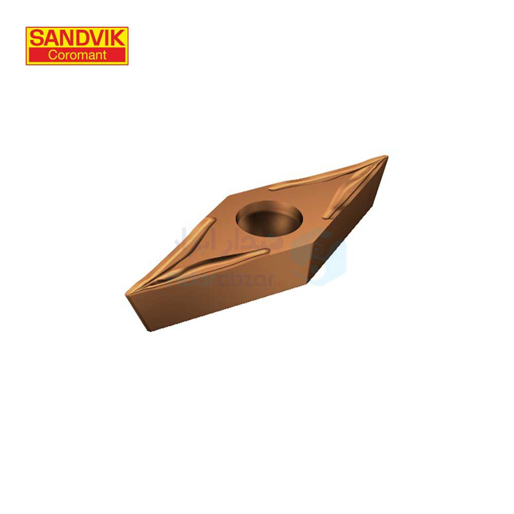 تصوير رنده ، تيغچه تراشکاري VCET 110302-UM 1125 سندويک SANDVIK