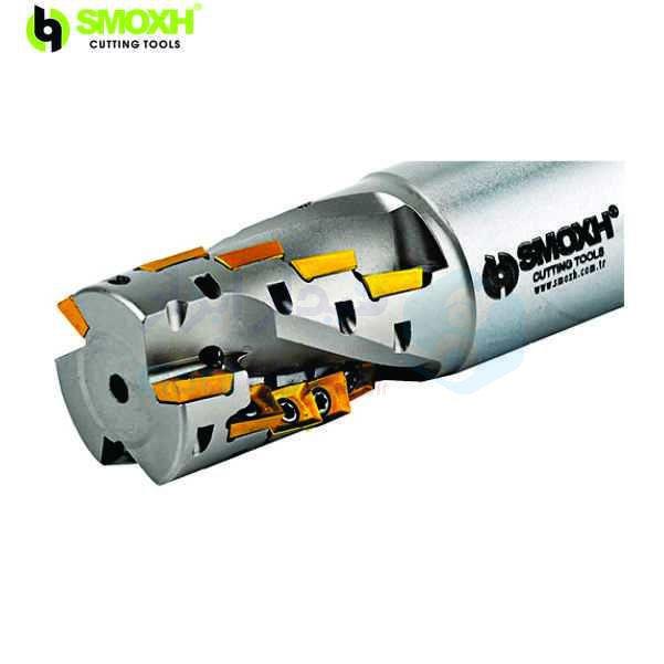 ابزار پیشانی تراش قطر 40 میلیمتر اینسرت AP.. 1003.. اسموکس SMOXH کد محصول HT90 AP10 D40 L130 A32 Z18 H