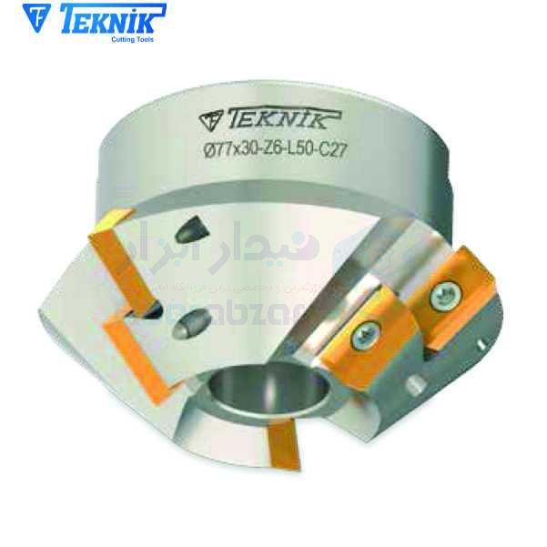 فرز خزینه (مته خزینه) قطر 94 زاویه 75 درجه طول کل 50 میلیمتر الماس AP.. 1604 تکنیک TEKNIK کد محصول TEKNIK T458 3594 Z06 K15 AP16