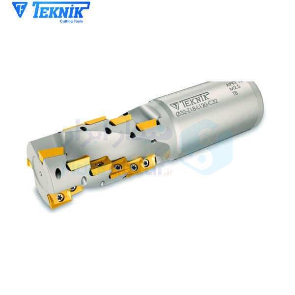 ابزار پیشانی تراش قطر 40 میلیمتر اینسرت AP.. 1003.. تکنیک TEKNIK کد محصول HF18 D40 Z18 K56 AP 10