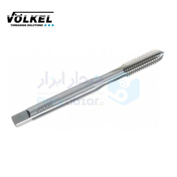 قلاویز ماشینی M2x0.4 فرم C شیار مستقیم HSS-E دین 371 ولکل VOLKEL کد محصول MT-HSSE-371-C-N-M2x0.4