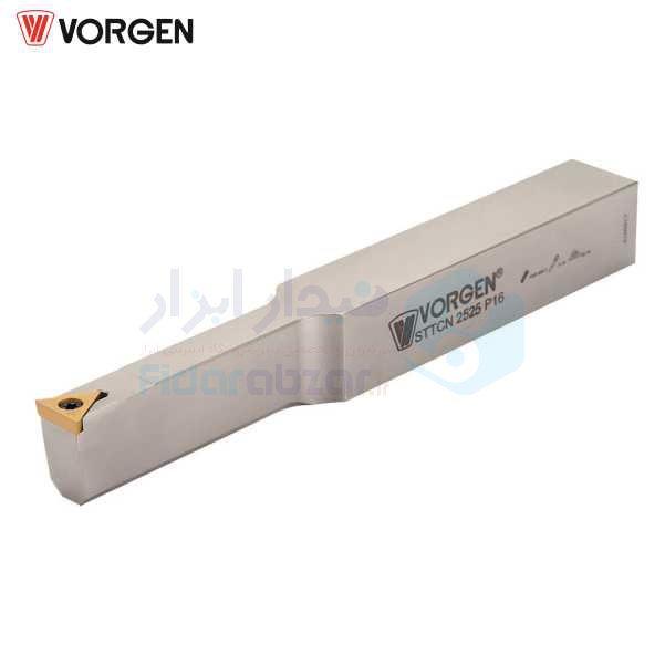 هلدر تراشکاری روتراش پیچی 25x25 الماس TC 1102 ورگن VORGEN کد محصول STTCN 25x25 P11