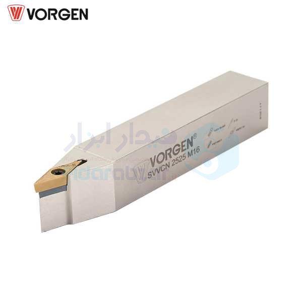 هلدر تراشکاری روتراش پیچی 12x12 الماس VC 1103 ورگن VORGEN کد محصول SVVCN 12x12 F11